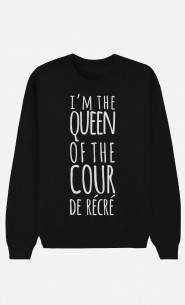 Sweat Femme Queen of the Cour