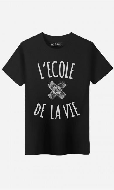 T-Shirt Homme L'Ecole de la Vie