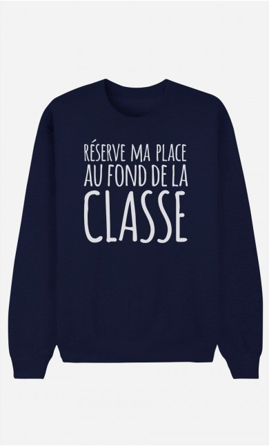 Sweat Bleu Réserve ma Place