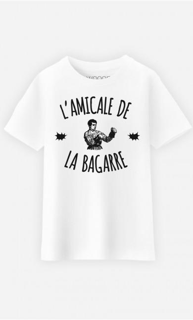 T-Shirt Enfant L'Amicale de la Bagarre