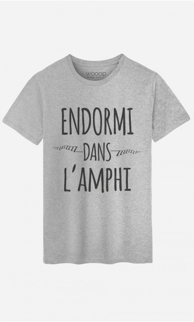 T-Shirt Homme Endormi Dans l'Amphi