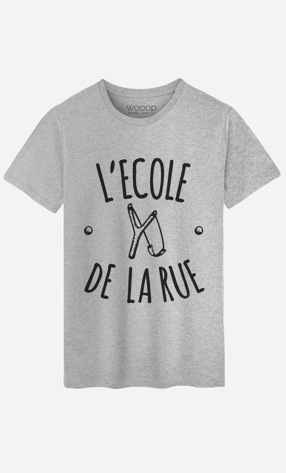 T-Shirt Homme L'Ecole de la Rue