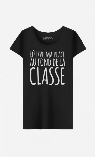 T-Shirt Femme Réserve ma Place