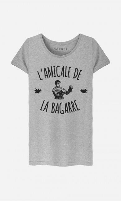 T-Shirt Femme L'Amicale de la Bagarre