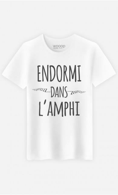 T-Shirt Endormi Dans l'Amphi