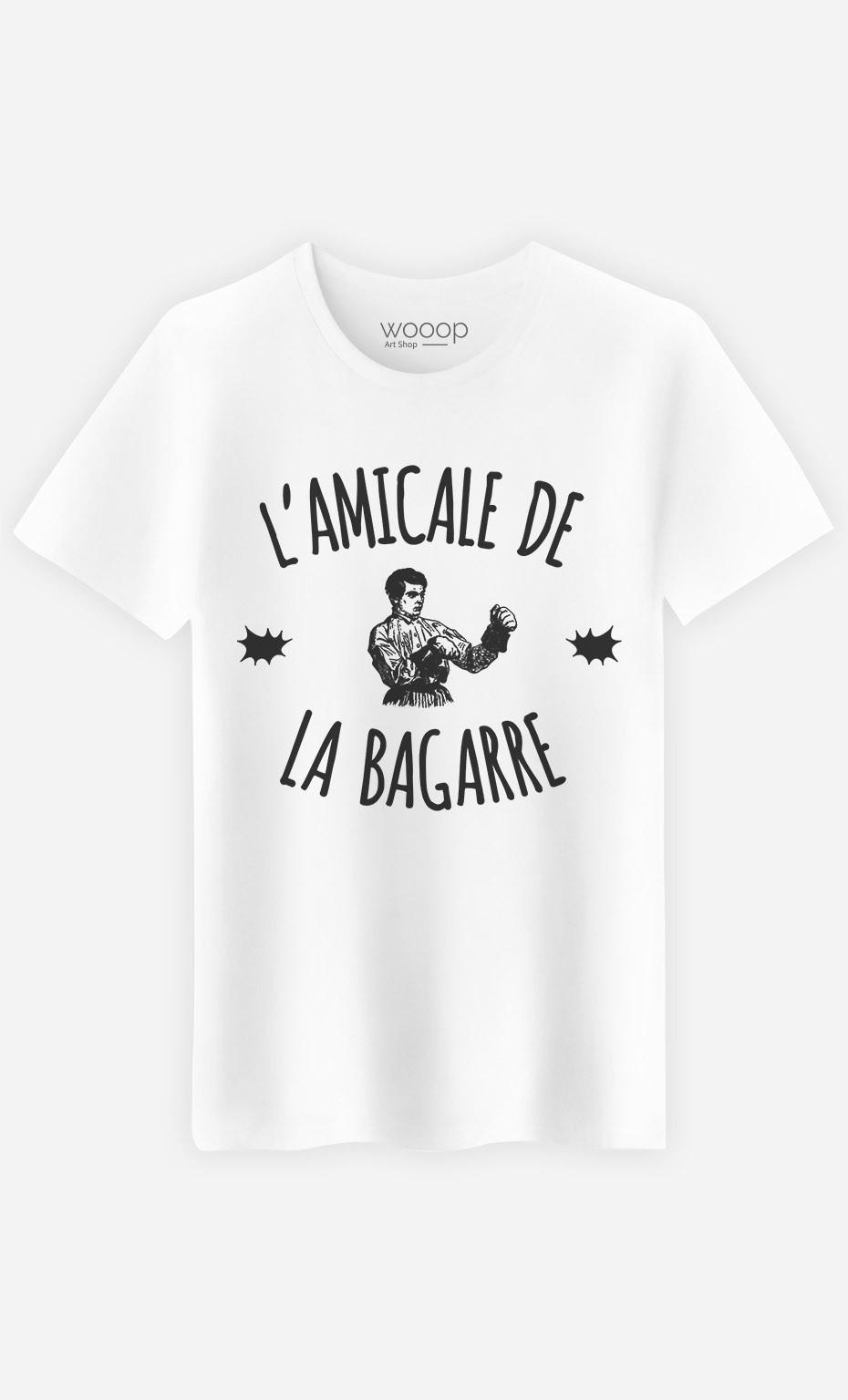 T-Shirt Homme L'Amicale de la Bagarre