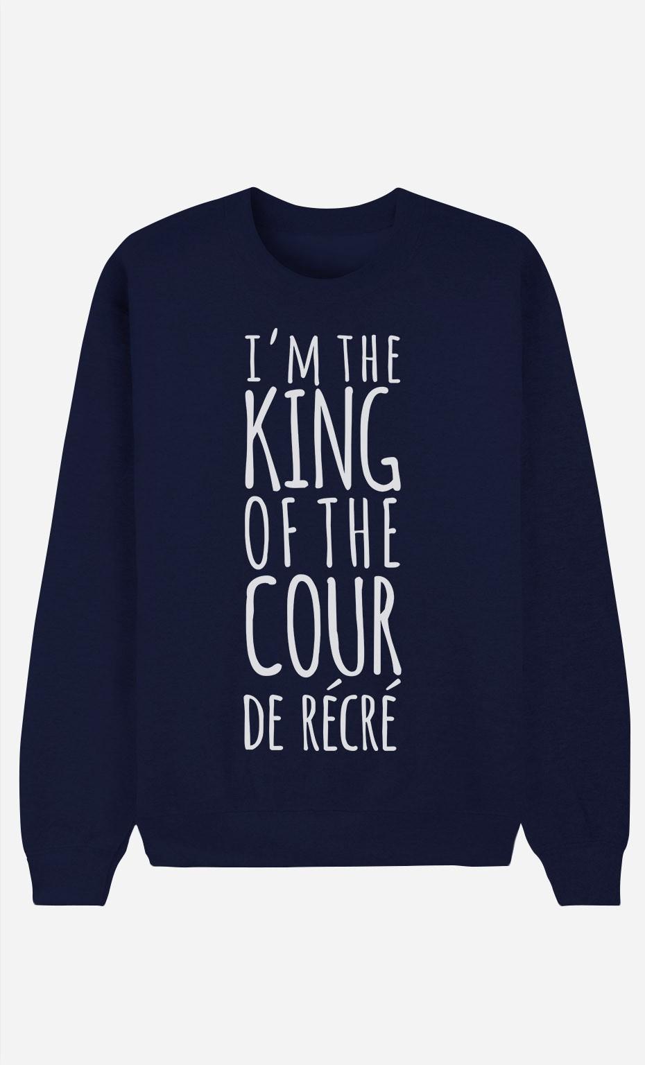 Sweat Bleu King of the Cour