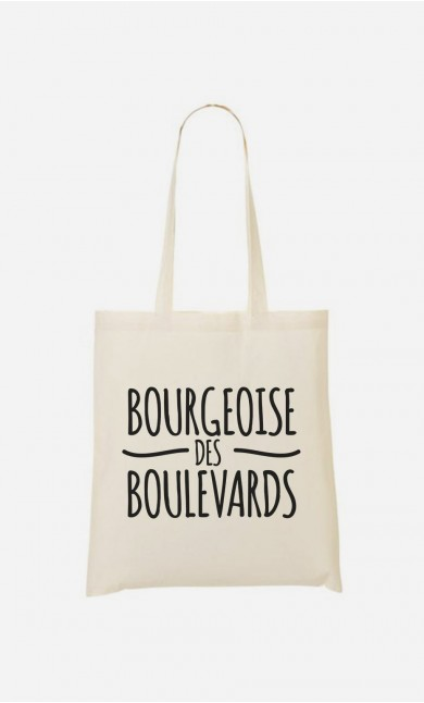 Tote Bag Bourgeoise des Boulevards
