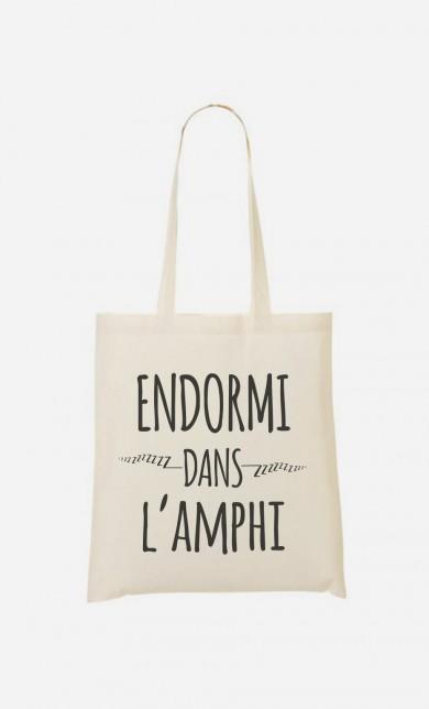 Tote Bag Endormi Dans l'Amphi