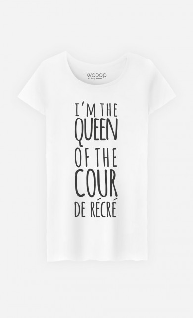 T-Shirt Queen of the Cour
