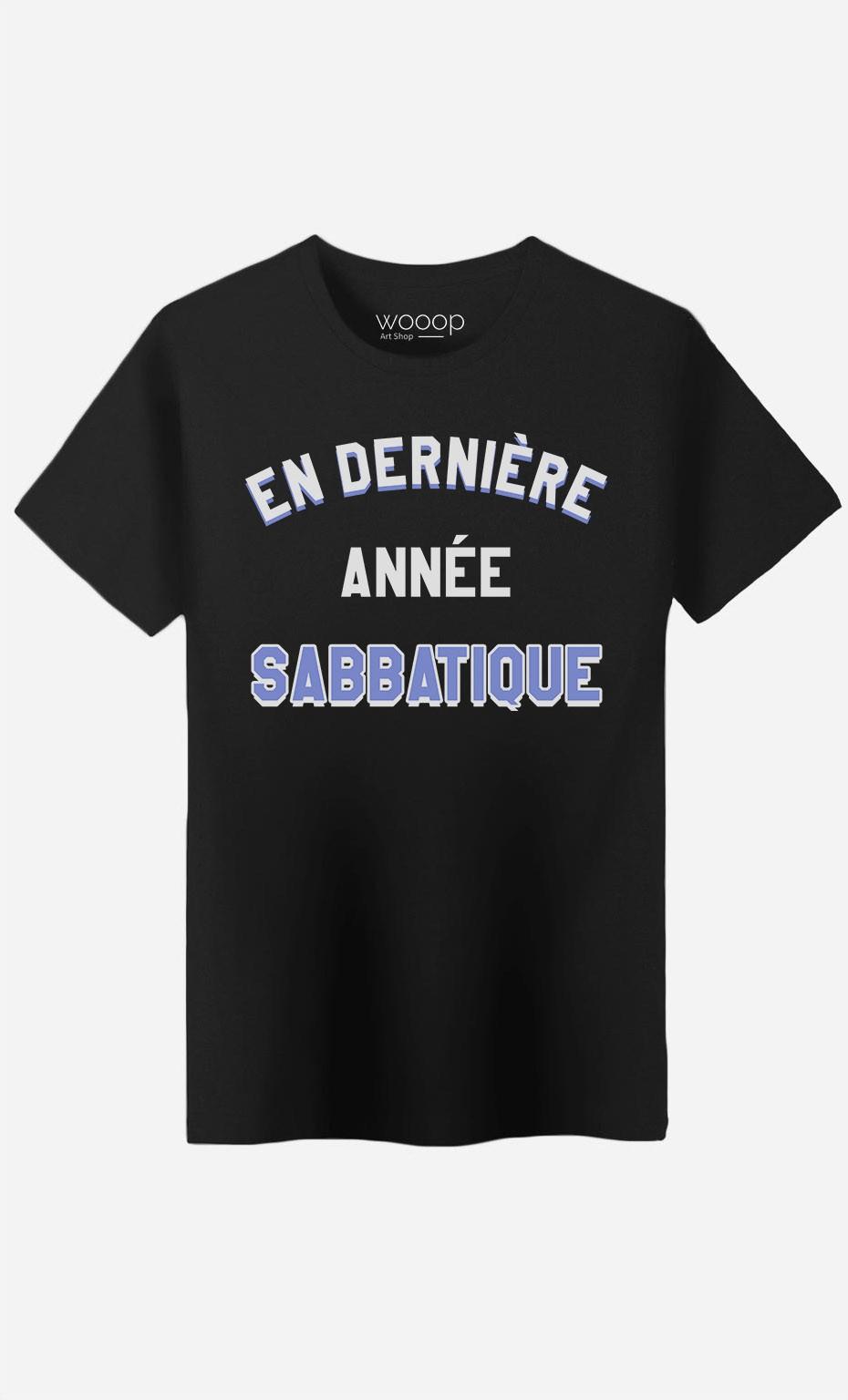 T-Shirt Homme En Dernière Année Sabbatique