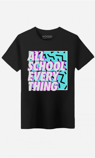 T-Shirt Homme All School Everything