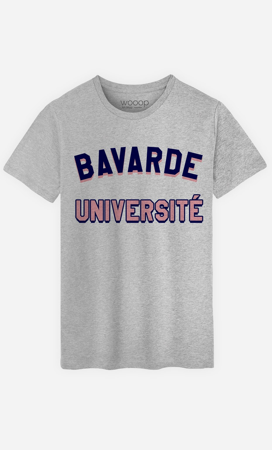T-Shirt Homme Bavarde Université