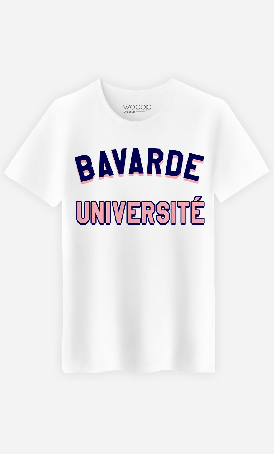 T-Shirt Homme Bavarde Université