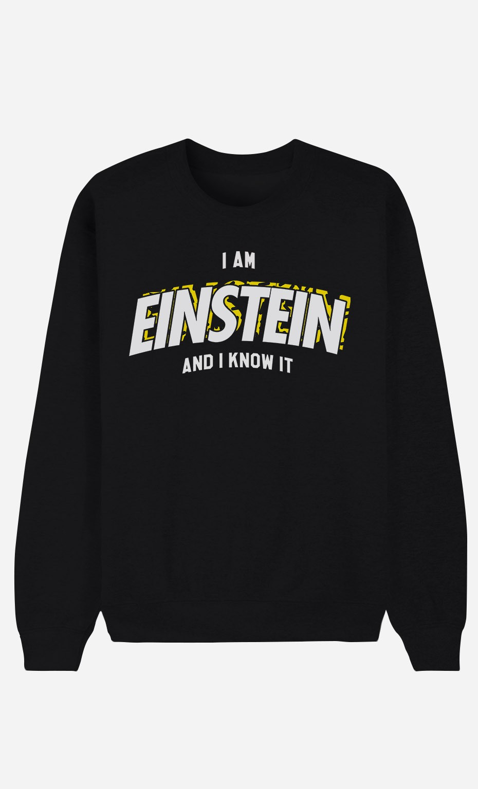Sweat Noir I Am Einstein And I Know it