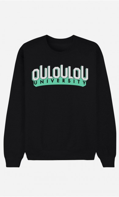 Sweat Noir Ouloulou University