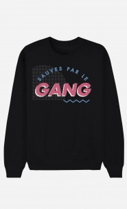 Sweat Noir Sauvés Par le Gang