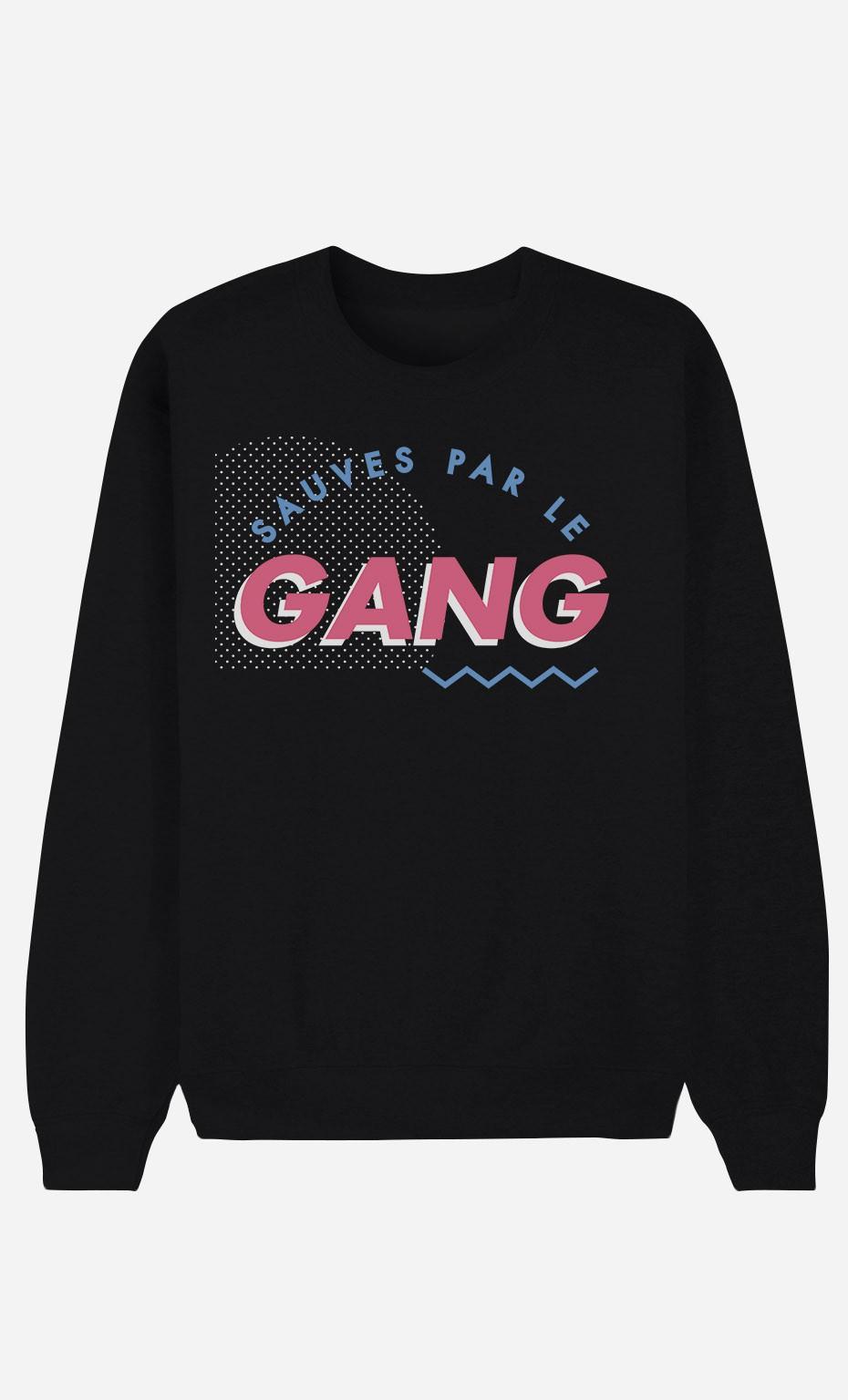 Sweat Noir Sauvés Par le Gang