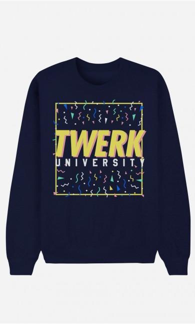 Sweat Homme Twerk University
