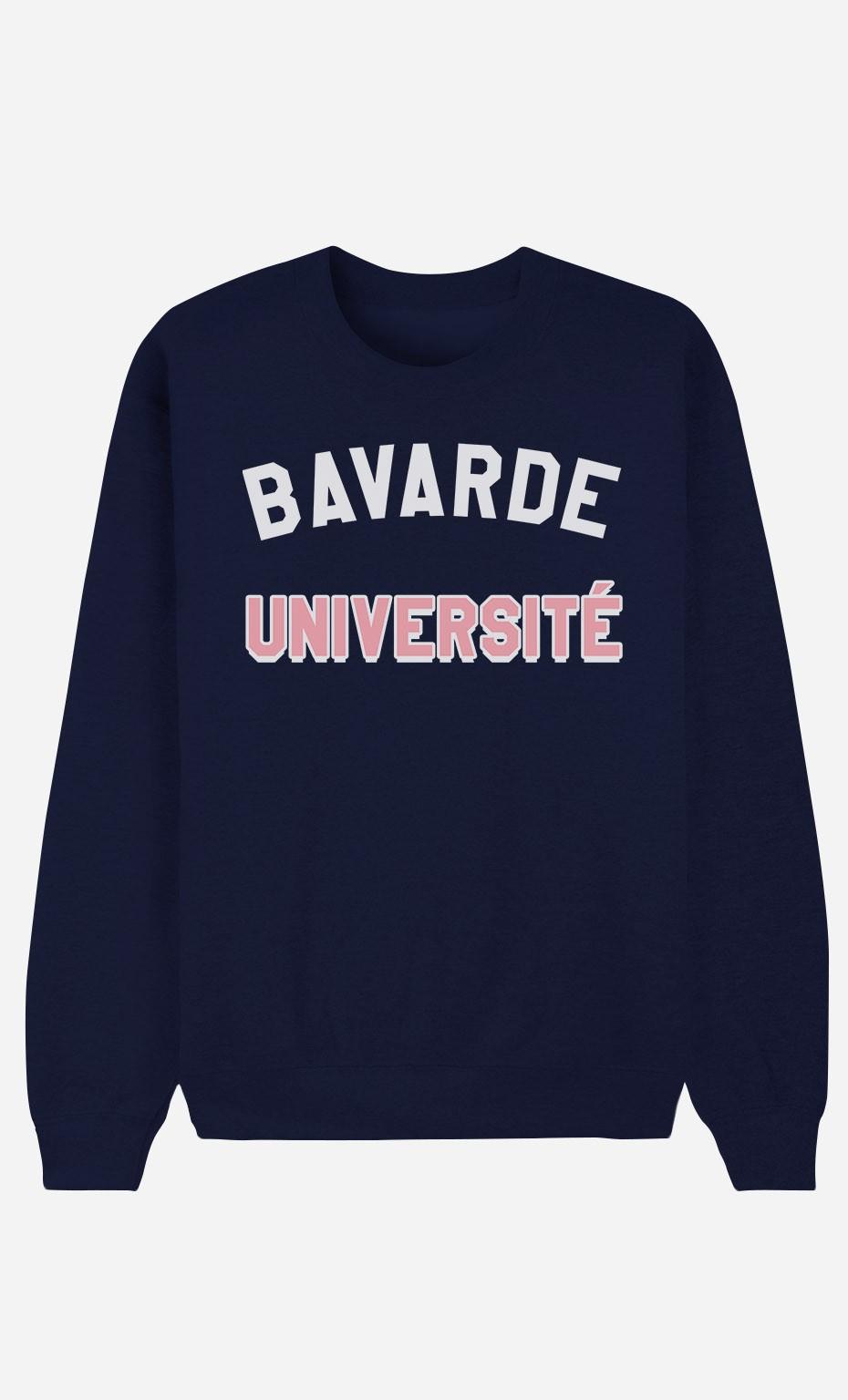 Sweat Bleu Bavarde Université