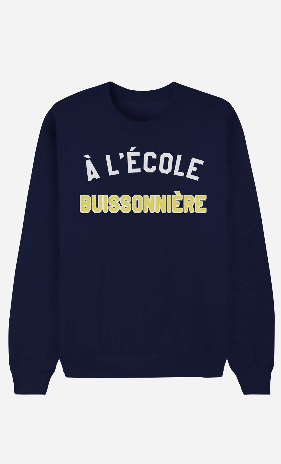 Sweat Bleu À L'École Buissonnière