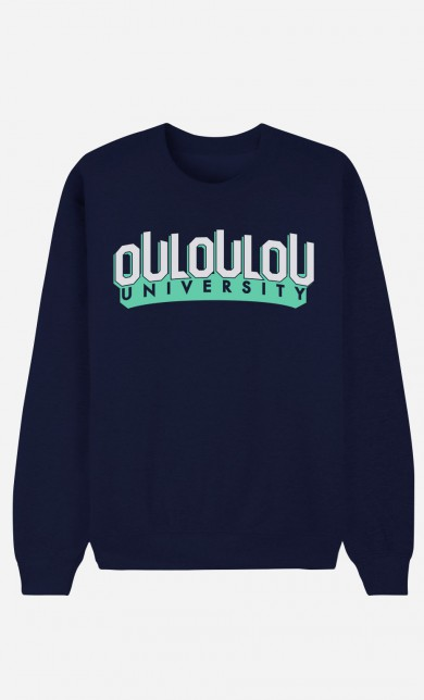 Sweat Bleu Ouloulou University