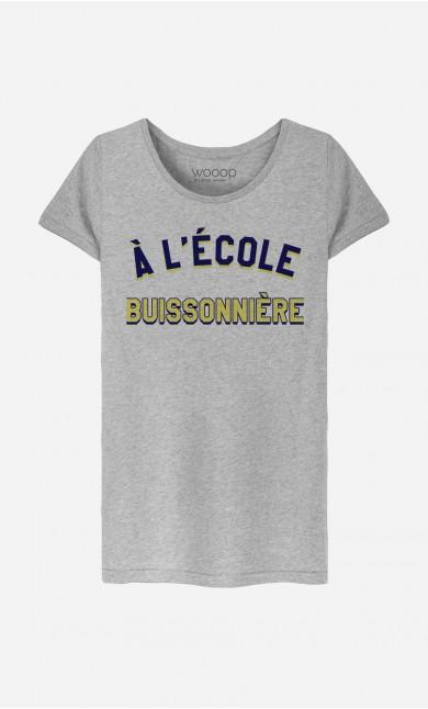 T-Shirt Femme À L'École Buissonnière
