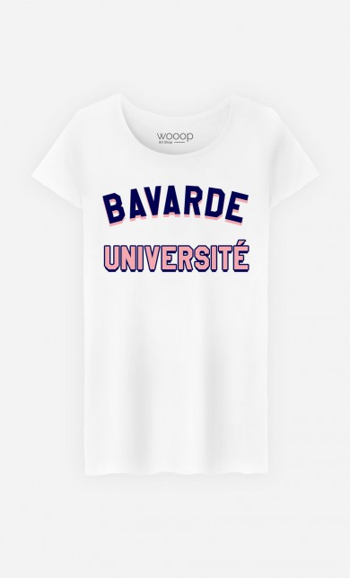T-Shirt Bavarde Université