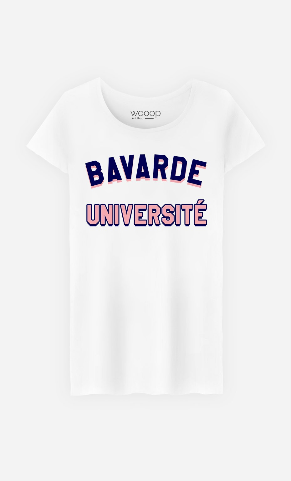 T-Shirt Bavarde Université