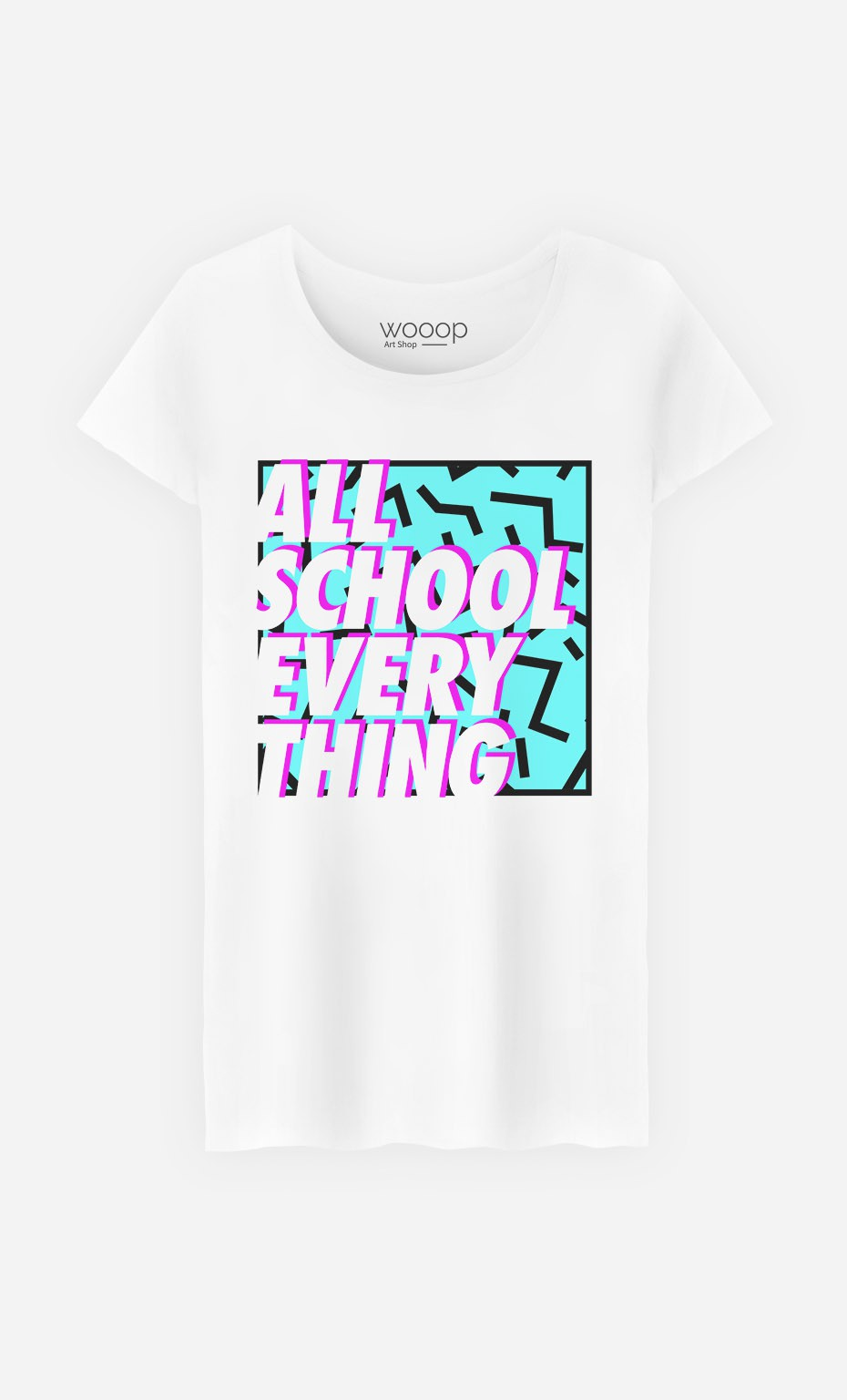 T-Shirt Femme All School Everything