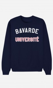 Sweat Bleu Bavarde Université