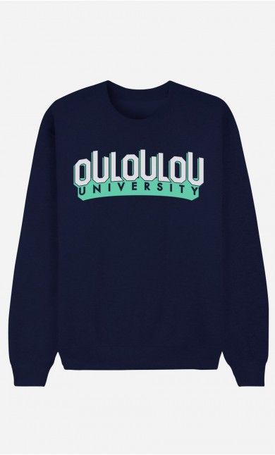 Sweat Bleu Ouloulou University
