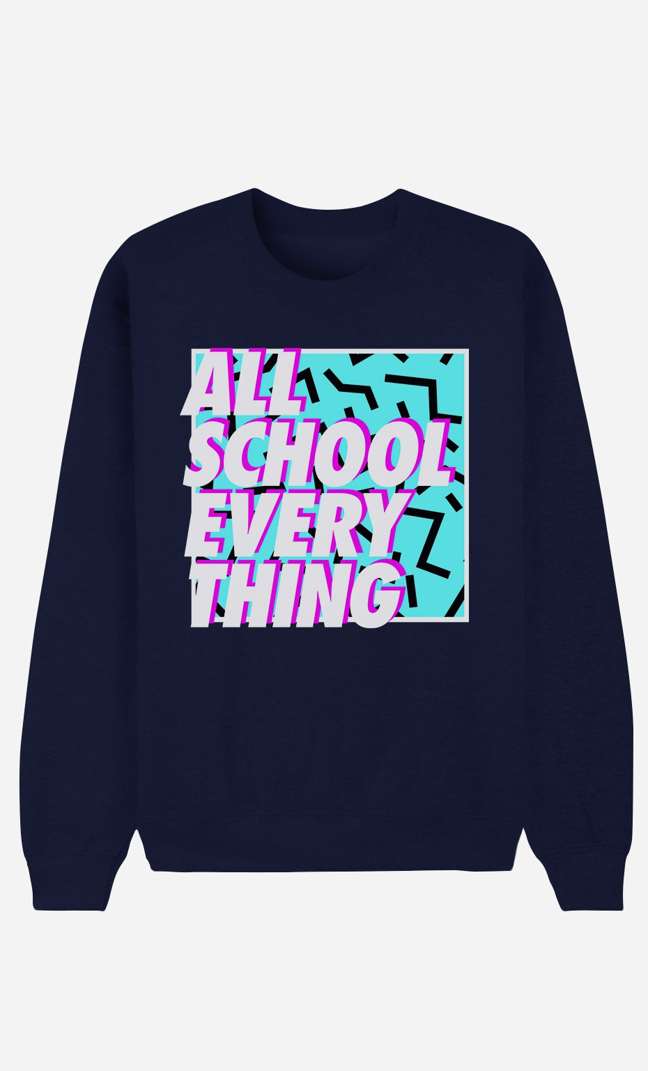 Sweat Bleu All School Everything