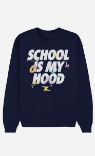 Sweat Bleu School is my Hood
