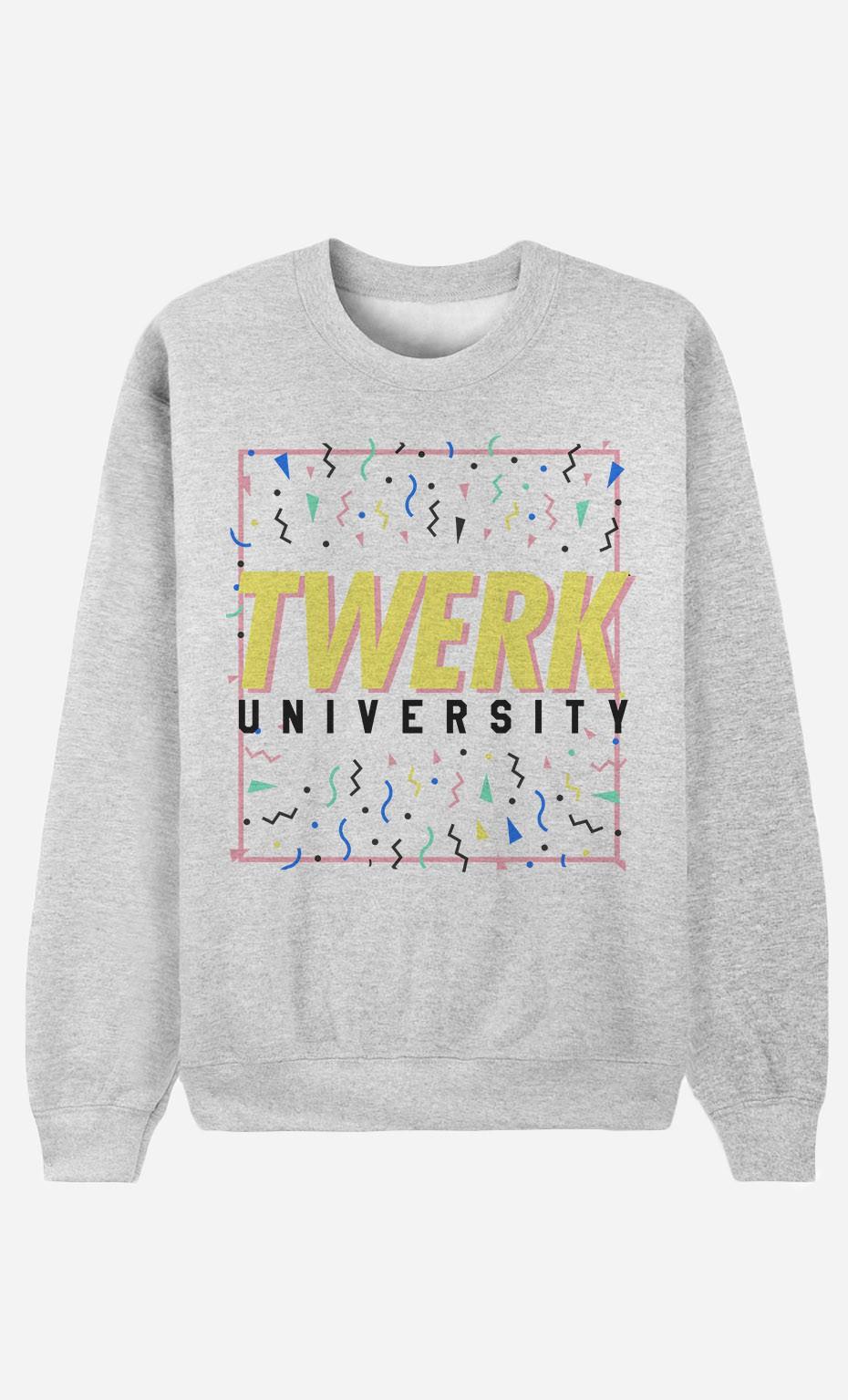 Sweat Femme Twerk University
