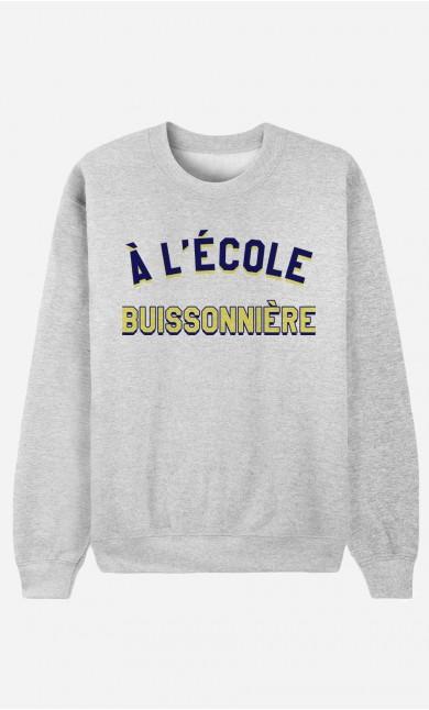 Sweat Femme À L'École Buissonnière