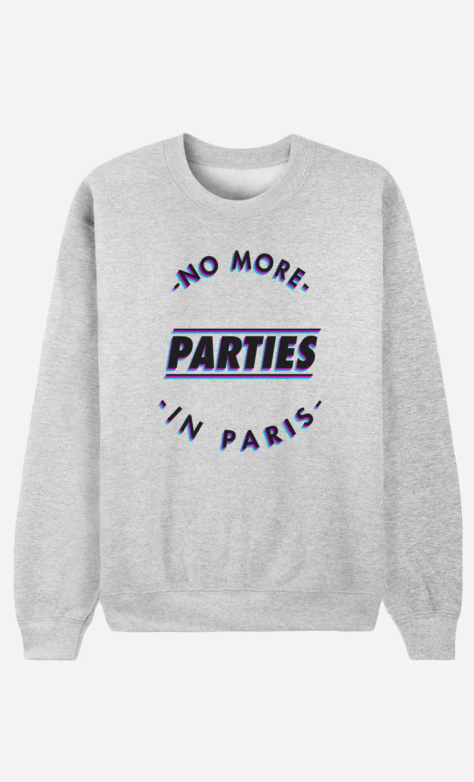 Sweat Homme No More Parties in Paris