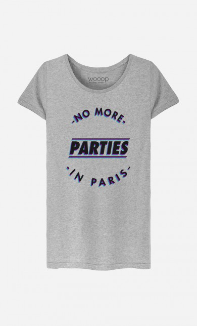 T-Shirt No More Parties in Paris