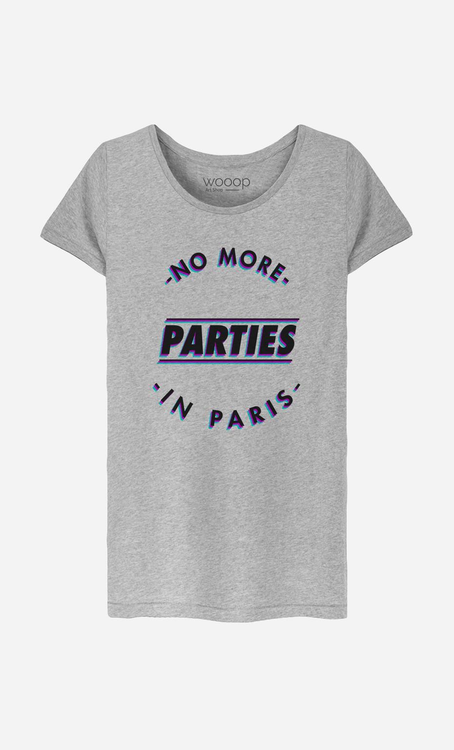 T-Shirt Femme No More Parties in Paris
