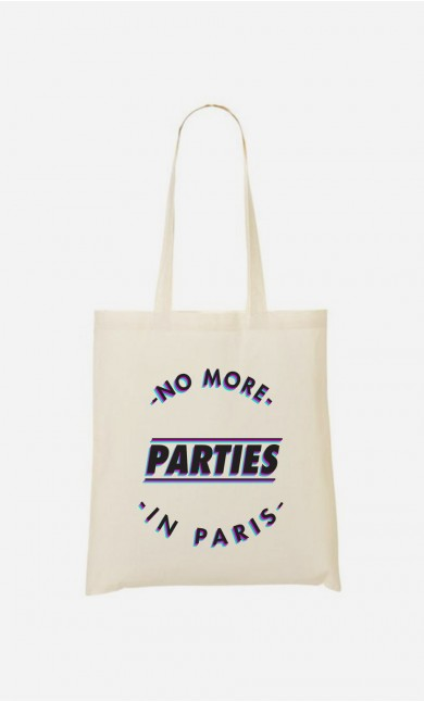 Tote Bag No More Parties in Paris