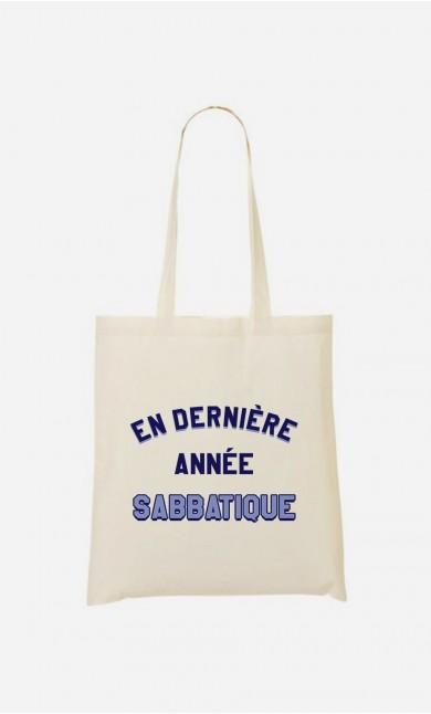 Tote Bag En Dernière Année Sabbatique