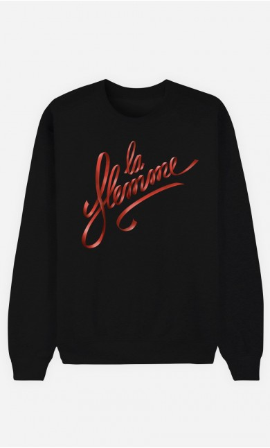 Sweat Noir La Flemme