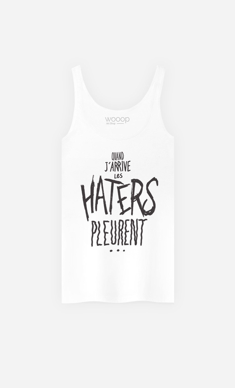 Débardeur Les Haters Pleurent