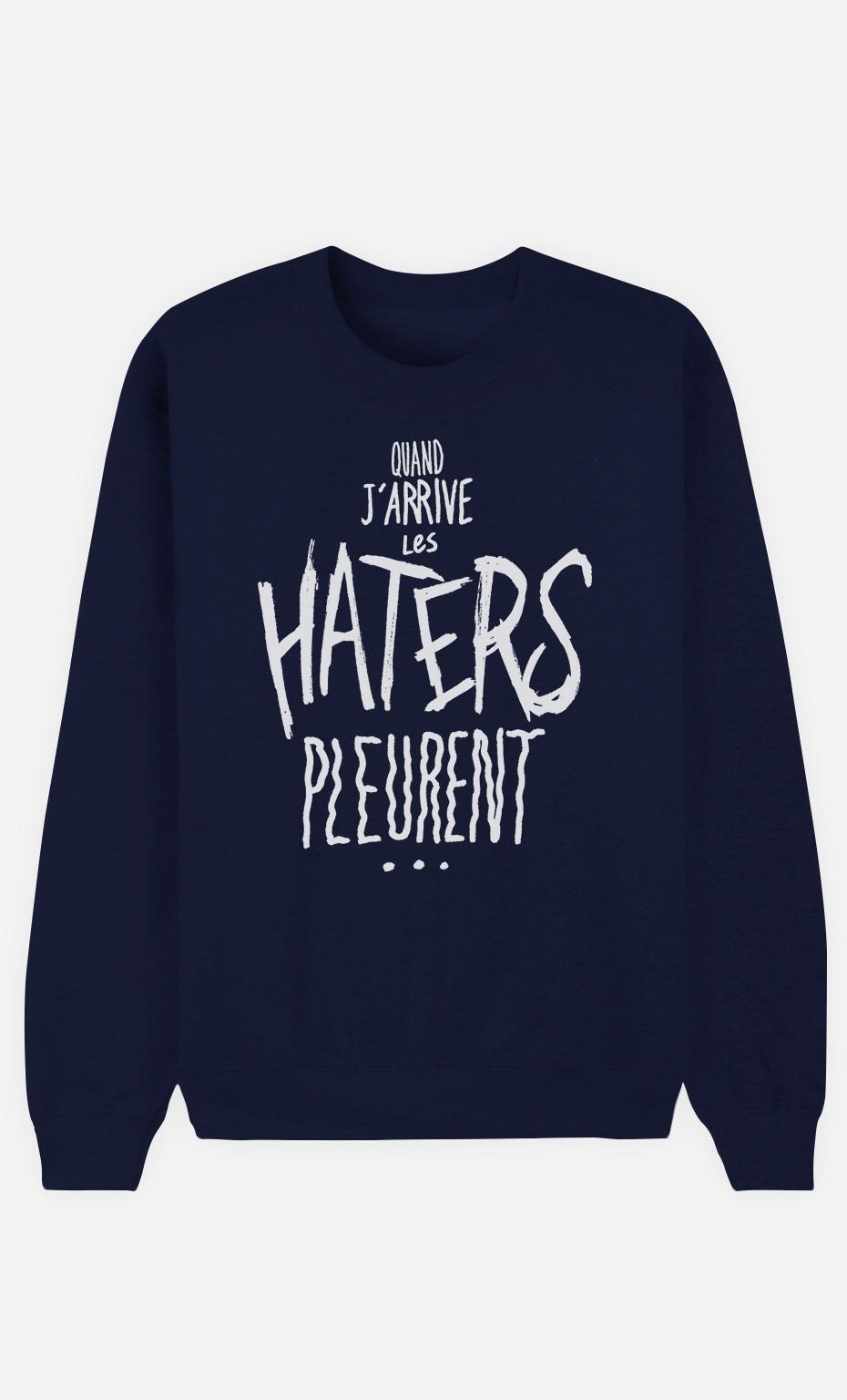 Sweat Femme Les Haters Pleurent