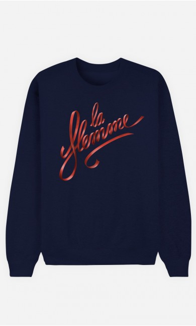 Sweat Bleu La Flemme