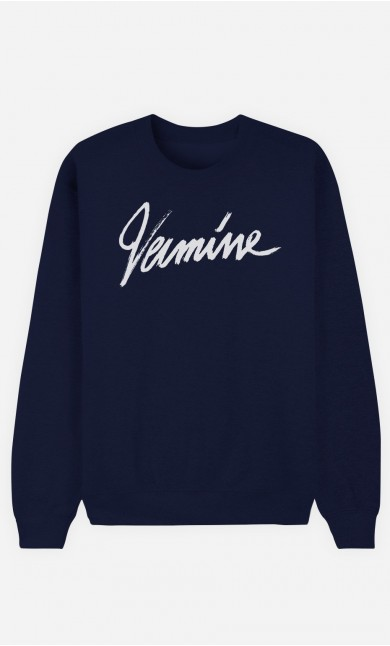 Sweat Bleu Vermine
