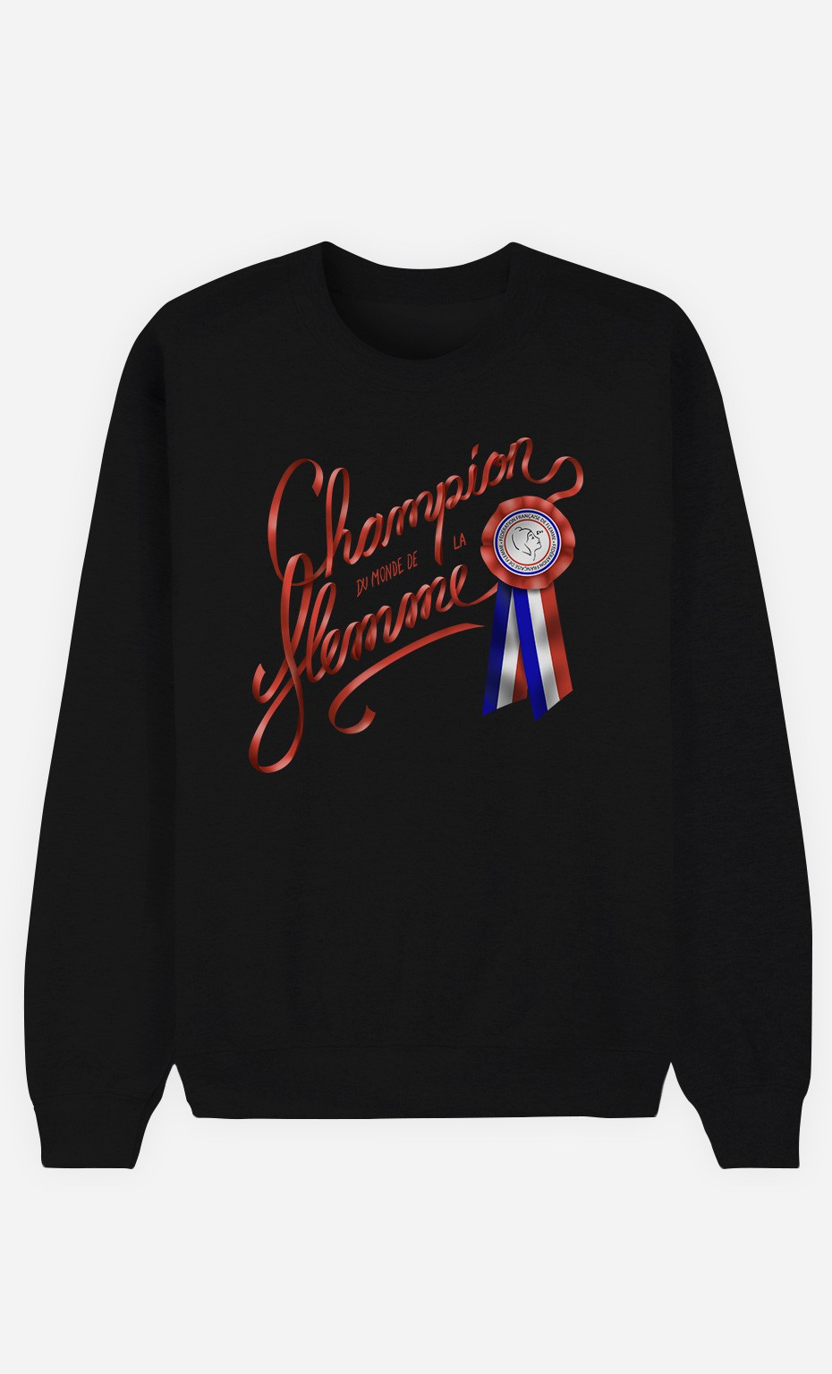 Sweat Noir Champion du Monde