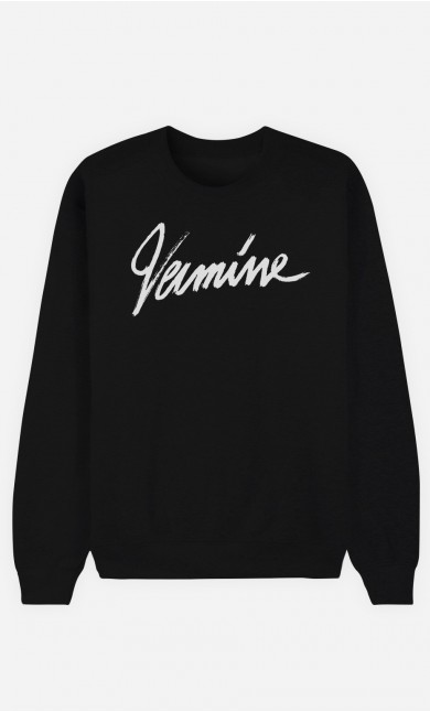 Sweat Noir Vermine