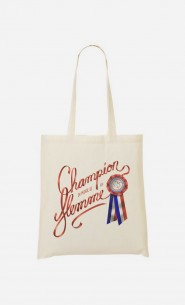 Tote Bag Champion du Monde