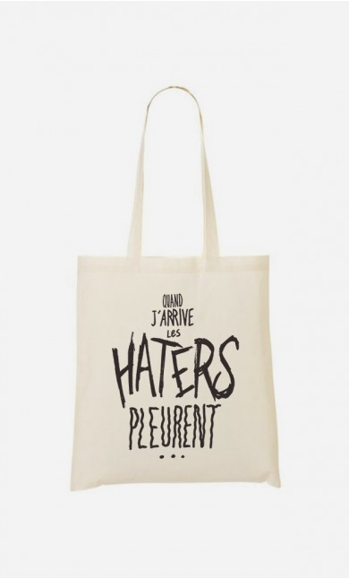 Tote Bag Les Haters Pleurent